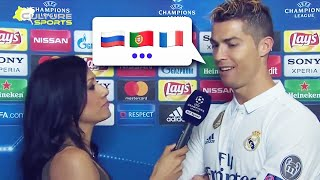 How many languages does Cristiano Ronaldo speak? | Oh My Goal