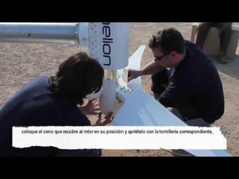 Anelion Small Wind Turbine Installation Guide and Procedure