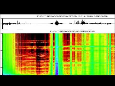 Il suono alieno registrato a 36km dalla superficie terrestre
