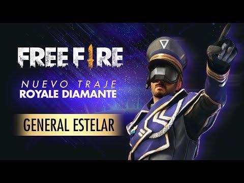 Nova Skin do Sorte Royale: General Estelar
