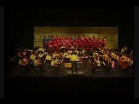 波希兒童合唱團(少年組)演唱《月光光童謠組曲》
