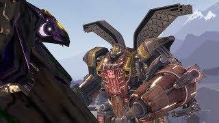 SFM - Autobots Vs Trypticon Transformers Fight Scene