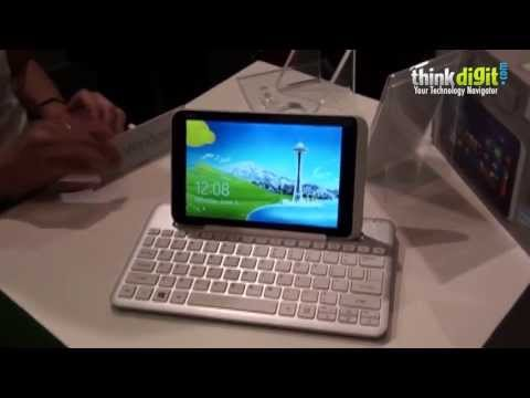 Acer Iconia W3 at Computex 2013
