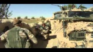 Svenske soldater i kamp med Taleban (helmetcam)