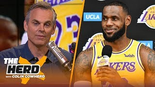 Colin evaluates LeBron James' supporting cast ahead of the NBA 2018-19 season | NBA | THE HERD