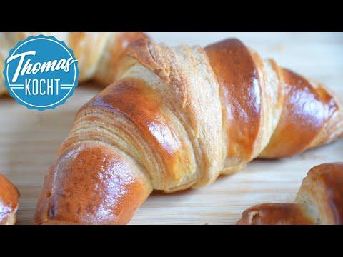 Croissants wie in Frankreich selber machen