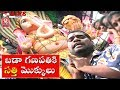 Teenmaar News : Bithiri Sathi Offers Special Prayers At Khairatabad Ganesh