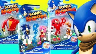 Opening New Sonic Boom Toys Knuckles Tails Eggman