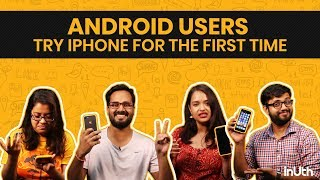 Android Users Try iPhone For The First Time | iPhone XS, iPhone XS Max, Android Pie