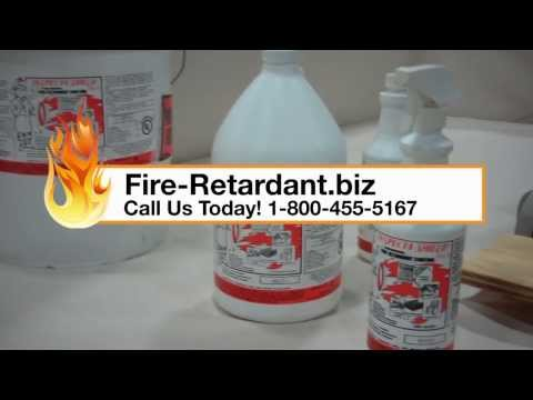 Inspecta Shield Fire Retardant Demonstration