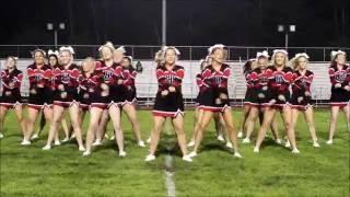 MHS vs Fremont Varsity Cheer Routine 9-2-2016