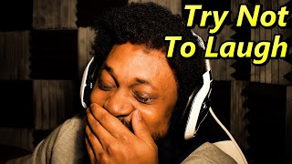 I Cried TEARS TWICE.. CAN'T HOLD IT IN ANYMORE | Try Not To Laugh Challenge #9