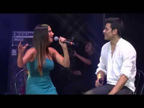 Carlos Rivera ft. India Martínez - A tu vera - Teatro Metropólitan (05-Jul-2014)