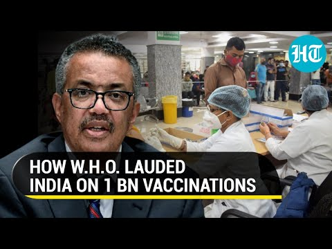 'Strong political...':W.H.O. showers praise on India for achieving 100 cr vaccination mark