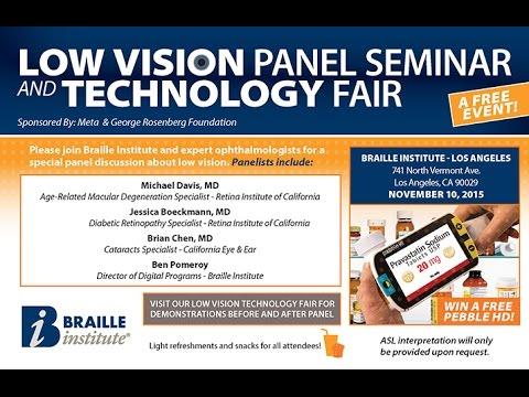 LA Low Vision Seminar Fall 2015