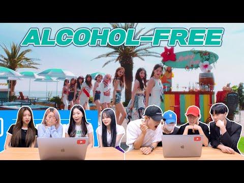 트와이스 'Alcohol Free' 뮤비를 보는 남녀 댄서의 반응 차이 | TWICE 'Alcohol Free' MV REACTION