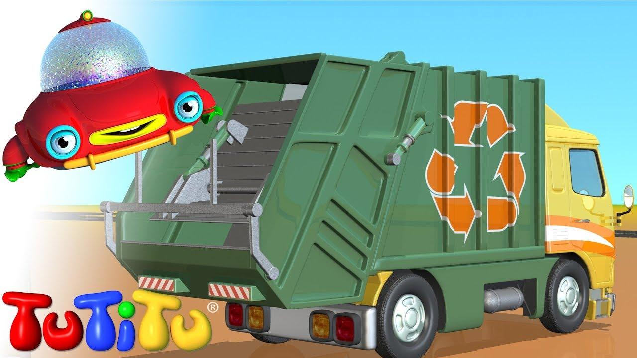 garbage truck cartoon - photo #17