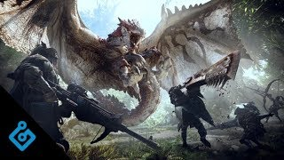 Watch A Four-Player Cooperative Quest In Monster Hunter World (No Commentary)