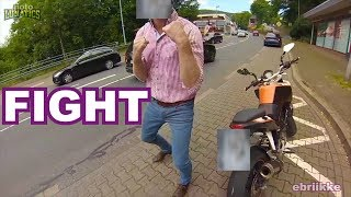 ROAD RAGE Developed Into FIST FIGHT | Motorcyclist & Random Incidents Compilation #6