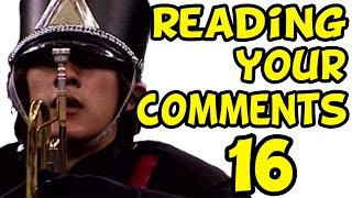 MARCHING BAND MARKIPLIER | Reading Your Comments #16