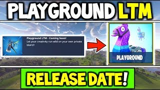 *NEW* PLAYGROUND LTM RELEASE DATE! + ALL FEATURES OVERVIEW + ENDLESS RESPAWN GAMEMODE -PRIVATE MATCH