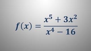Definicijsko območje racionalne funkcije 1