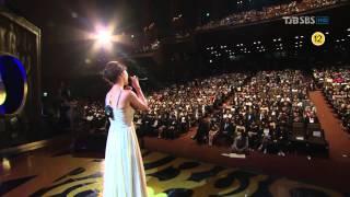 백지영 - 그여자 / Secret Garden OST_현빈 하지원 @ Seoul Drama Awards 110831