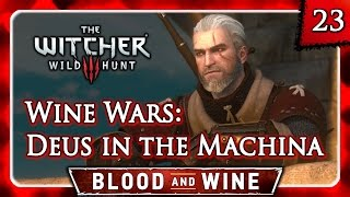 Witcher 3 🌟 BLOOD AND WINE 🌟 Wine Wars: Deus in the Machina - Best Outcome