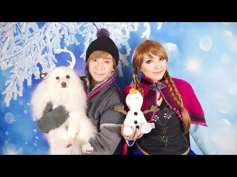 Disney's Frozen Anna Makeup Tutorial
