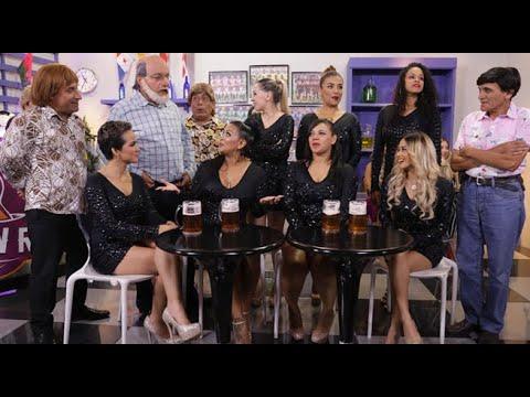 Las chicas de Son Tentación llegaron al bar 'Pidalo con Rima'