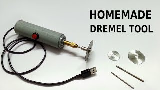 How to make Rotary Dremel tool at home