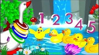Five little ducks Song - Nursery Rhymes for Kids