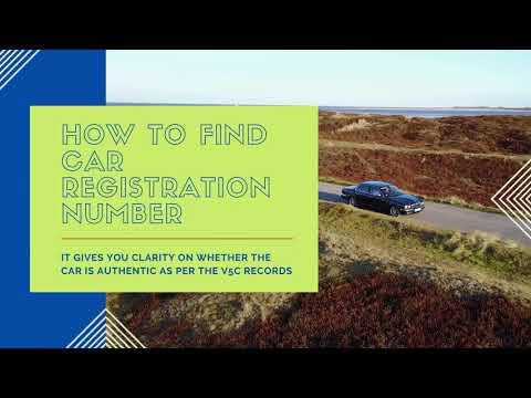 Car Reg Finder - CarDotCheck