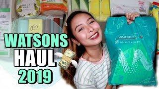 WATSONS HAUL 2019 (PAMPAPUTI AT SKINCARE) PHILIPPINES