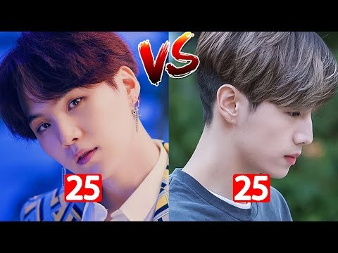 GOT7 Mark Tuan Vs BTS Suga Childhood/Transformation II Who Is More Handsome ???
