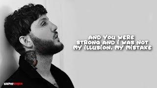 James Arthur - Impossible ( Lyrics Video )