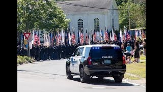 Weymouth Police Sgt. Michael Chesna remembered as American hero at funeral
