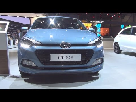 Hyundai i20 1.0 T-GDi GO! (2016) Exterior and Interior in 3D