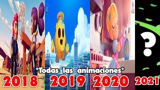 TODAS LAS ANIMACIONES DE BRAWL STARS!!! (Compilación) 2018 - 2021
