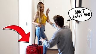 I'm MOVING OUT PRANK On BOYFRIEND!!