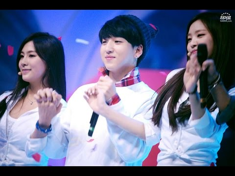 [B1APINK] B1A4 + APINK moments compilation P.1