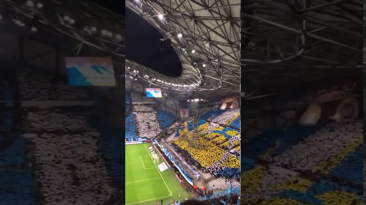Incredible Scenes at Marseille vs Lyon Game! AMAZING ATMOSPHERE!