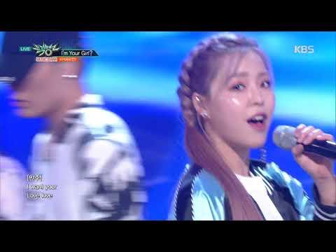 뮤직뱅크 Music Bank - I'm Your Girl? - KHAN(칸).20180601