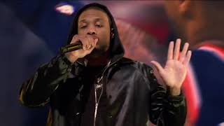 Damian Lillard Performs With Lil Wayne At 2020 NBA All-Star Saturday Night