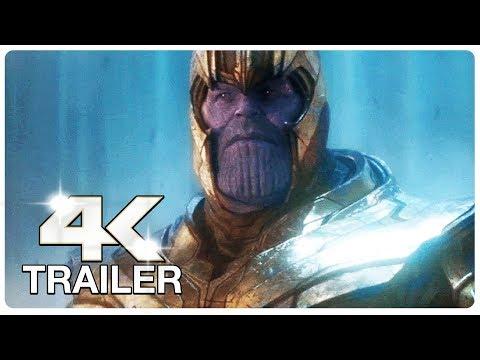 AVENGERS 4 ENDGAME : 8 Minute Trailers (4K ULTRA HD) NEW 2019