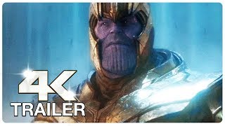 AVENGERS 4 ENDGAME : 8 Minute Trailers (4K ULTRA HD) NEW 2019