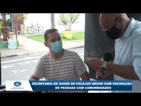 SECRETARIA DE SAÚDE DE PACAJUS SEGUE COM VACINAÇÃO DE PESSOAS COM COMORBIDADES