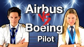 AIRBUS vs BOEING pilot / CAPTAIN JOE vs DUTCHPILOTGIRL