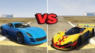 GTA 5 DLC: Coil Cyclone vs Grotti Visione - Best Fully Upgraded Super Cars In GTA Online