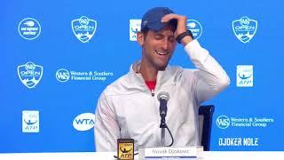 "Novak Djokovic ""I really wanna WIN Cincinnati"" - Cincinnati 2018 (HD)"